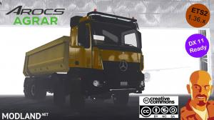 MERCEDES BENZ AROCS AGRAR ETS2 1.36.x DX11, 1 photo