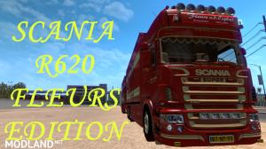 Dealer fix for Scania R620 Fleurs Edition