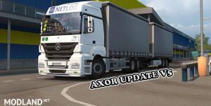 Mercedes Benz Axor+Addons Update v 5.0