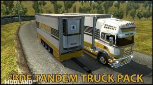 BDF Tandem Truck Pack v137.10 1.37.x, 6 photo