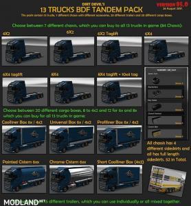 BDF Tandem Truck Pack v85.5 (1.28)