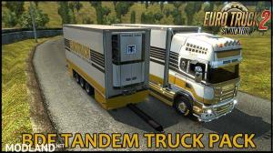 BDF Tandem Truck Pack v105.0 1.35.x, 1 photo
