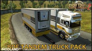 BDF Tandem Truck Pack v107.0 1.35.x, 1 photo