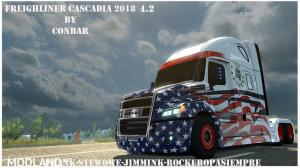 Freighliner Cascadia 2018 by Conbar, 1 photo