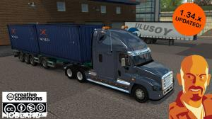 FREIGHTLINER CASCADIA ETS2 1.34.x