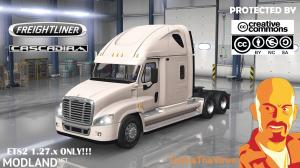 FREIGHTLINER CASCADIA ETS2 1.27.x, 1 photo