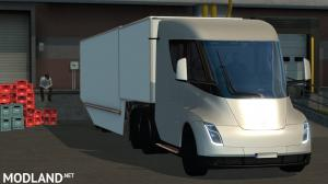 Tesla Semi Truck with Trailer 2019 - (ETS2 1.31.x)