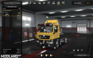 MAN TGX Reworked v2.5 1.36, 2 photo