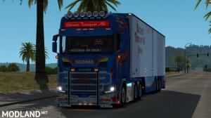 Ruttners Transport Scania [1.32-1.33], 1 photo