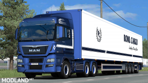 ROML Cargo MAN TGX Euro6 and VAK 4.4m DRY HCT Skinpack - External Download image