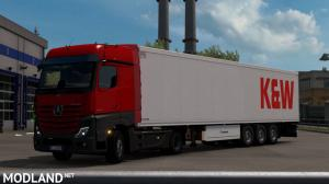 Mercedes Benz New Actros 2019 by Actros 5 Crew v1.2 [1.37, 1.38], 3 photo