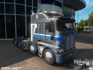 RTA-Mods Kenworth K200 v14.3 HCC edit (ETS2 BSA edit) for ETS2 v1.31 or higher, 1 photo