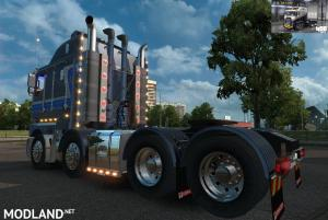RTA-Mods Kenworth K200 v14.3 HCC edit (ETS2 BSA edit) for ETS2 v1.31 or higher, 2 photo