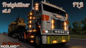 Freightliner FLB  v2.0.5 Edit by Harven 1.34.x, 3 photo