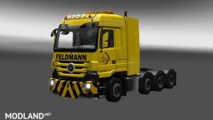 Feldmann Actros 8x4