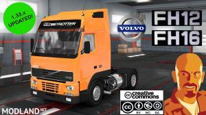 VOLVO FH12 MK1 (FH12 & FH16) ETS2 1.33.x