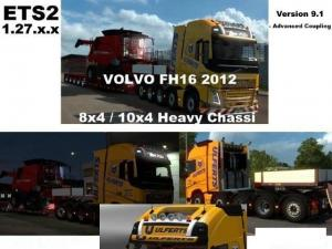 Volvo FH 2012 8×4 and 10×4 V9.1(1.27), 1 photo