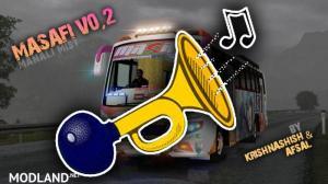 Kerala Bus Horn Mod for Masafi V0.2 (Ashok Leyland Viking V0.2) Euro Truck Simulator