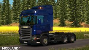 Scania R & Streamline Modifications V1.5.2 for ETS2 version 1.24