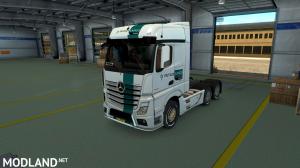 Rutges Mercedes Actros