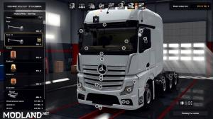 Mercedes Actros MP4 Reworked v1.8 [Schumi] [1.33-1.34] - External Download image