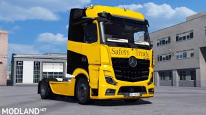 Mercedes Benz New Actros 2019 by Actros 5 Crew v1.4 Fixed [1.37, 1.38]