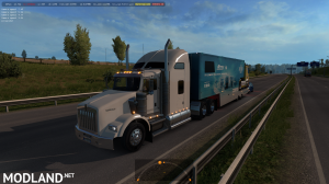 Kenworth T800 in traffic 1.32 & higher, 1 photo