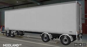 BDF Tandem Truck Pack v137.0 1.37.x, 4 photo