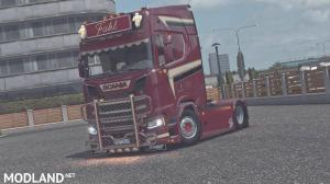Scania S730 FAHL transporte  final, 1 photo