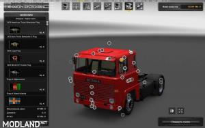 Scania 1 Series + BDF trailers [1.31], 3 photo