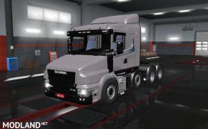 Scania 124 8x4 1.35.x, 1 photo