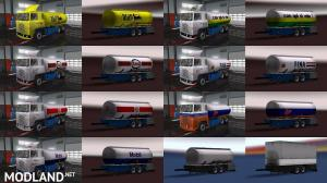 Scania 1 Series + BDF trailers [1.31], 6 photo