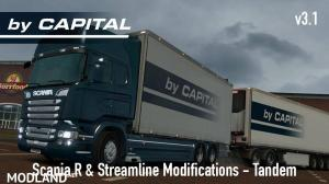 Scania R & S by RJL Tandem ByCapital v 3.1 for 1.24, 1 photo