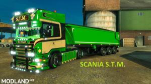 Scania R S.T.M & Trailer