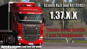 Scania R & R4 1.37 and 1.38