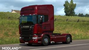 Scania R & Streamline Modifications v 2.2.4 for ETS2 version 1.35, 1 photo