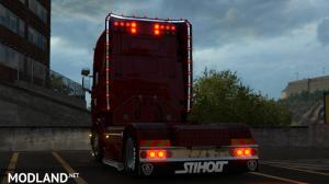 Scania R & Streamline Modifications v 2.2.4 for ETS2 version 1.35, 2 photo