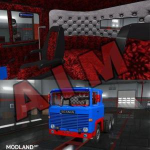 Scania 1 Series Special Interior by AIM, 1 photo