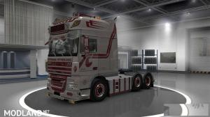 DAF XF 105 by Stanley 1.4 – Update + templates, 1 photo