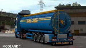 ROML Cargo Volvo FH4 and Menci Cistern Skinpack, 2 photo