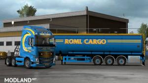 ROML Cargo Volvo FH4 and Menci Cistern Skinpack, 3 photo