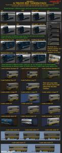 BDF Tandem Truck Pack v105.0 1.35.x, 2 photo