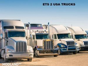 USA TRUCKS PACK for ETS2 1.33.x - External Download image