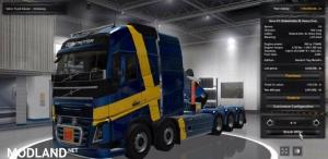 Volvo FH 2012 Special Transport (1.30.x), 1 photo