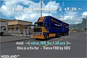 Volvo f88 fix 1.38