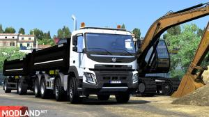 Volvo FMX Kipper Rework by Mistersix 1.6 [Megamod] 1.36, 1 photo