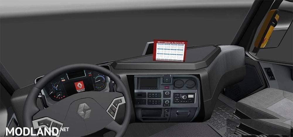 Renault Range T v5 mod for ETS 2