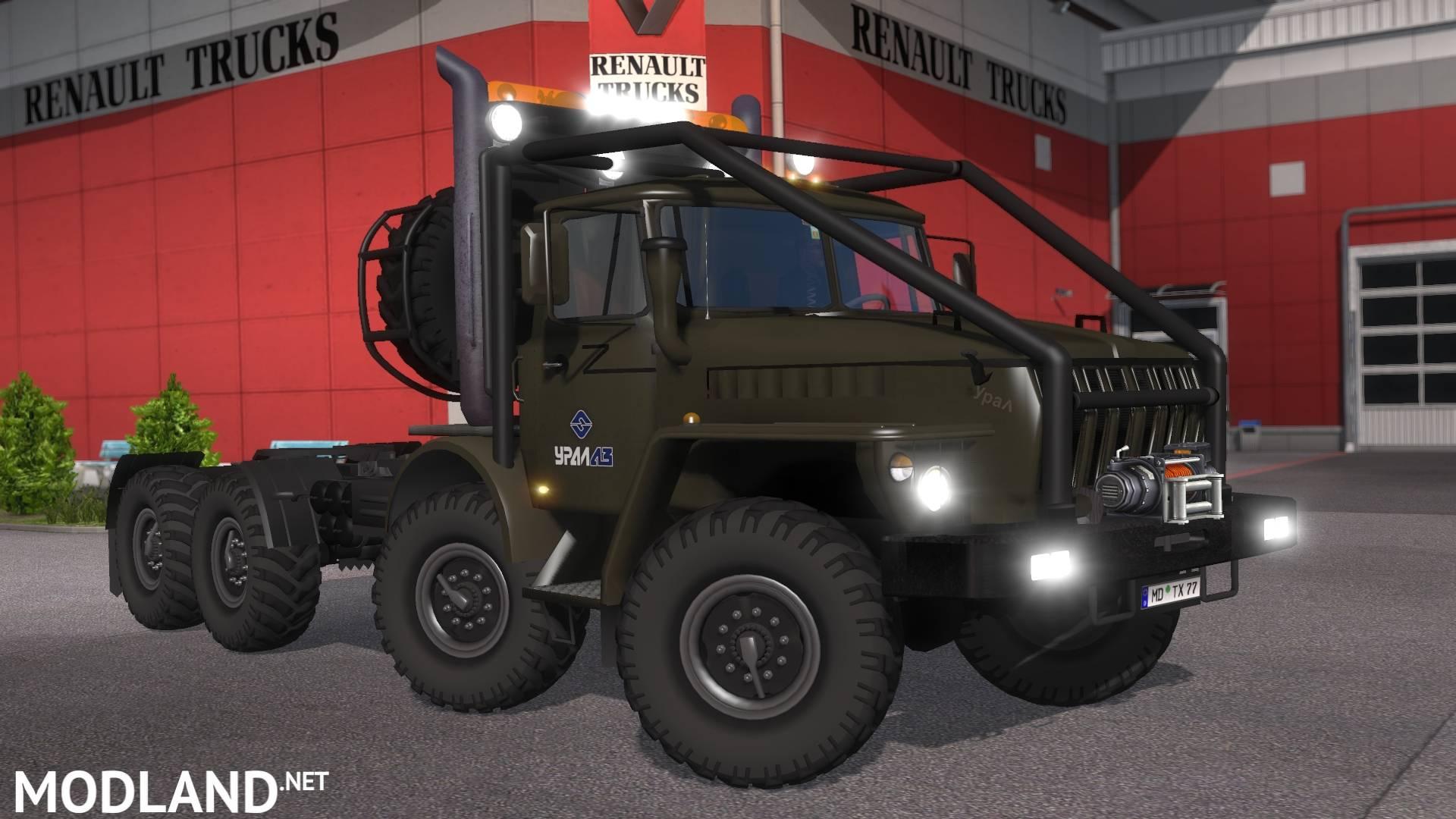 Ural 43202 1 17 1 S Mod For Ets 2