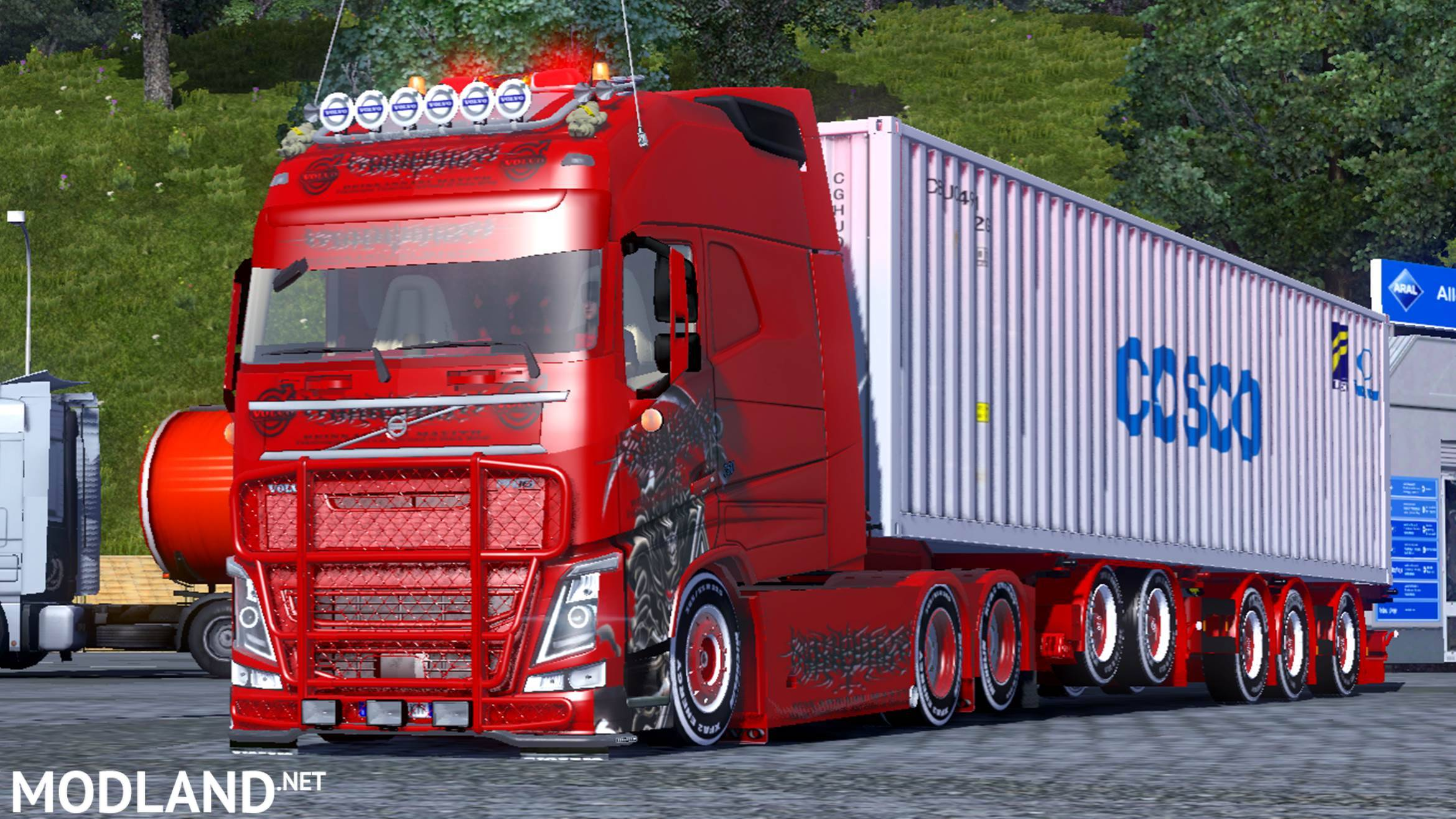 Volvo Fh750 Longline Mod For Ets 2
