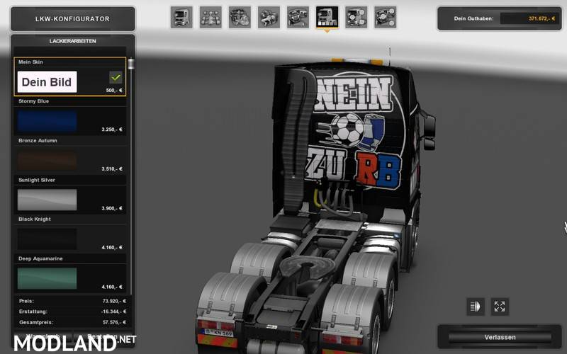 Eaa bus pack v1 6 mod euro truck simulator 2 mods - Volvo Fh 16 Anti Rb Leipzig V 1 0 Mod For Ets 2